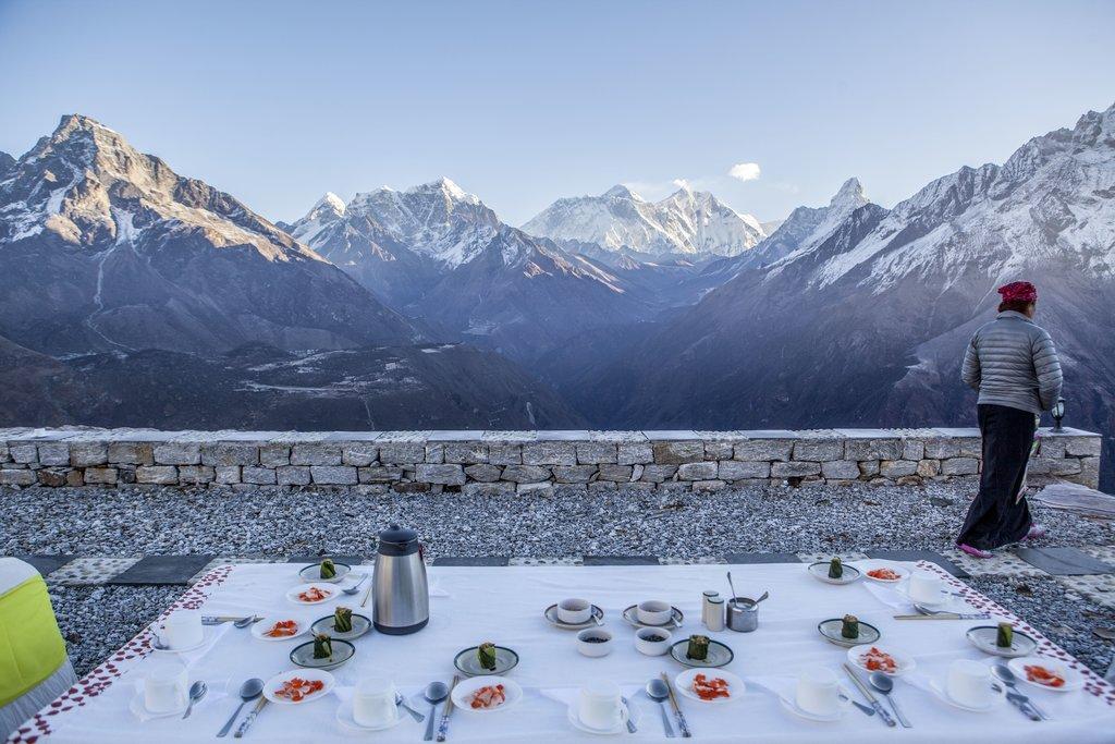 Breakfast at Yeti Mountain Home
