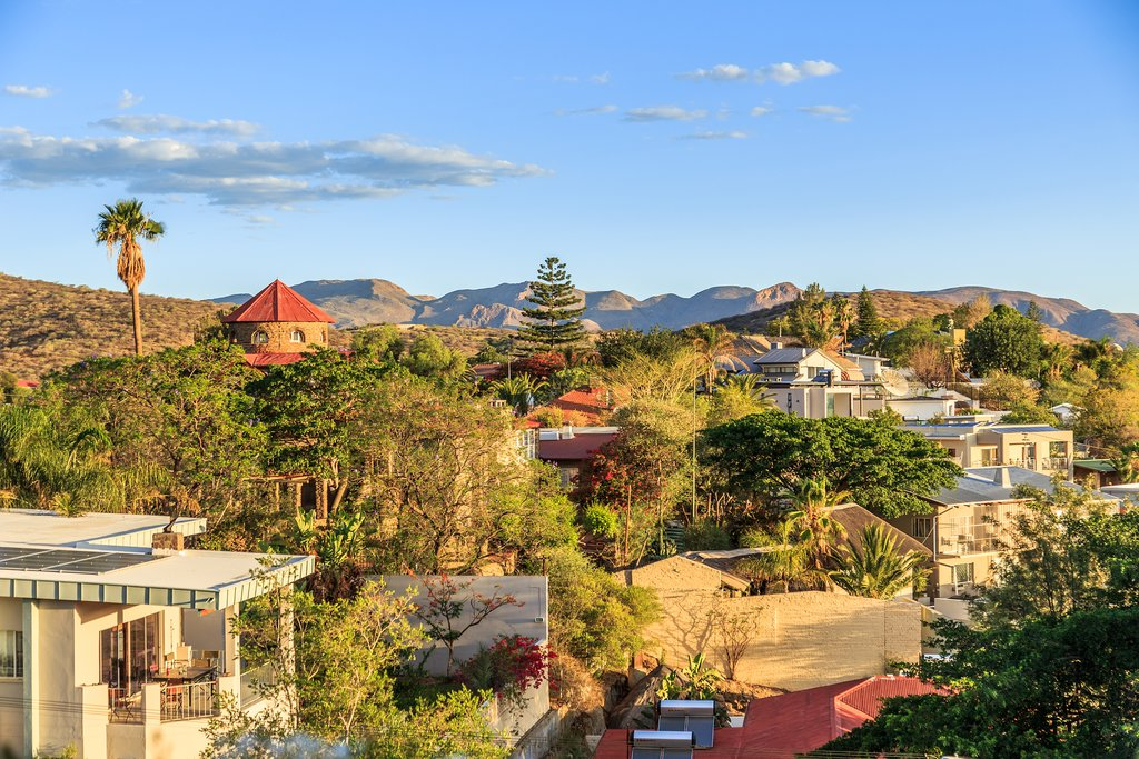 A residential area in Windhoek