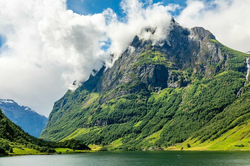 Fjord views in western Norway