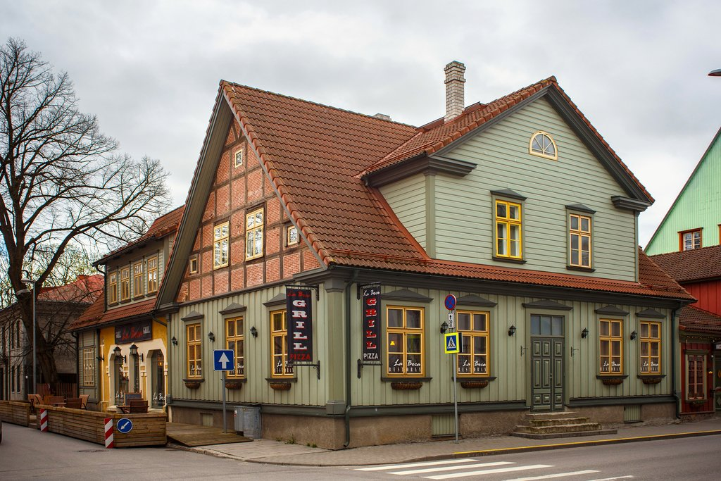 Half-Timbered Buildings of Pärnu
