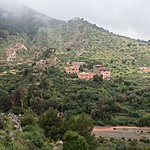 Hike past small villages in the High Atlas