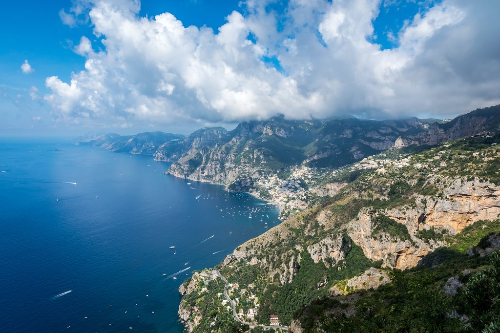 View From the Path of the Gods (Sentiero degli Dei) Hike