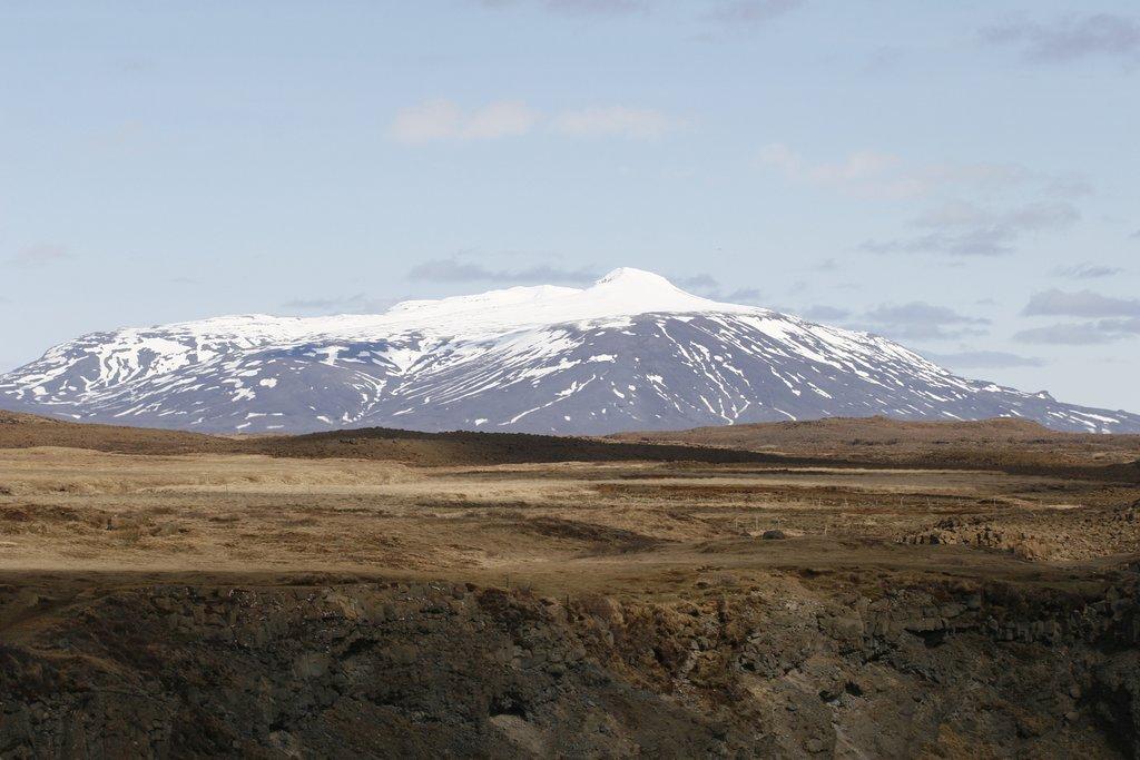 Hekla volcano, near Hella, Iceland