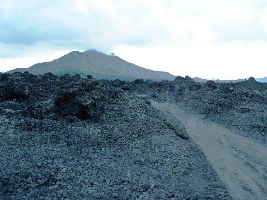 Within the caldera