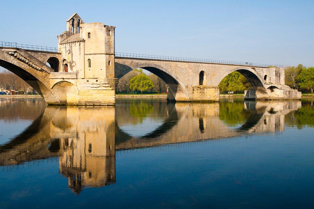 Pont d'Avignon in Avignon, France