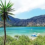 The shores of Kournas Lake
