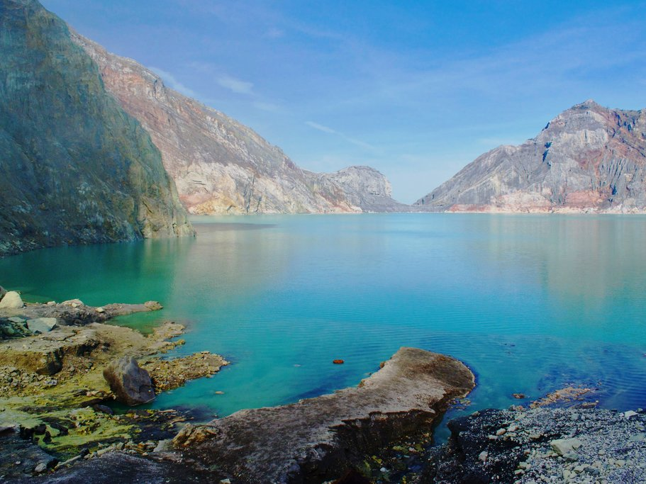 Ijen Acid Lake