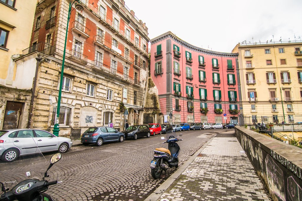 The Colorful Buildings of Naples