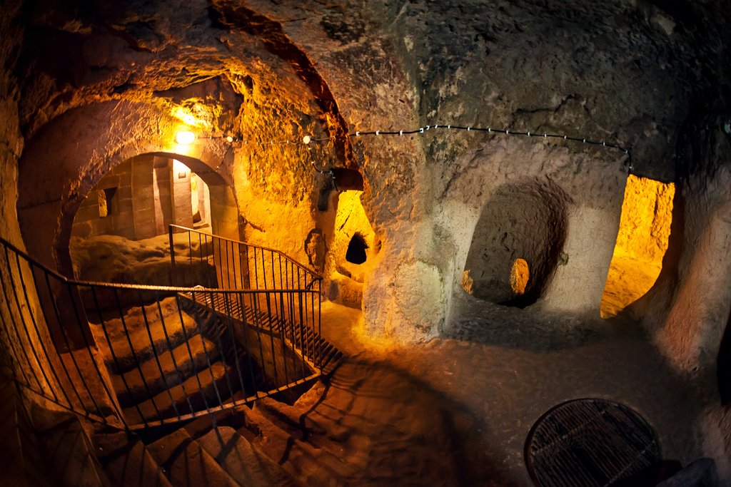 The Amazing Underground City of Kaymakli