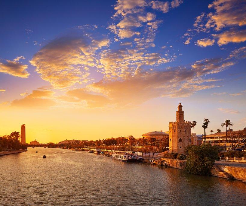 Sunrise in Seville
