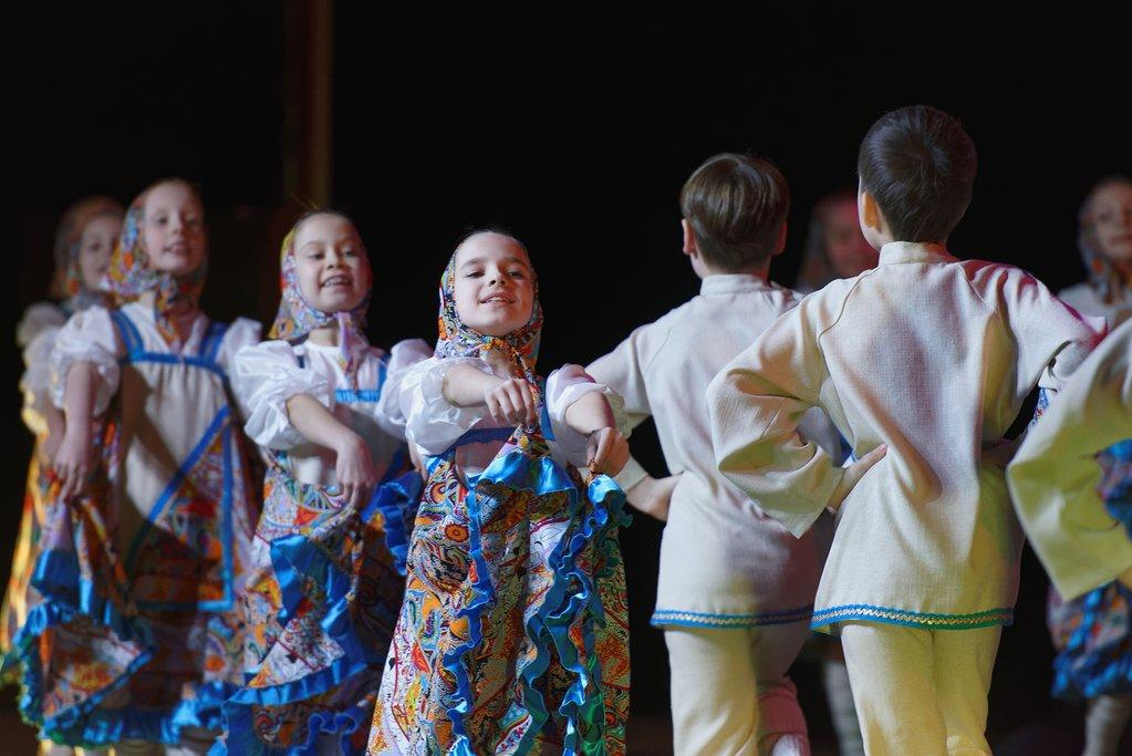 Folk Dancing in Russia