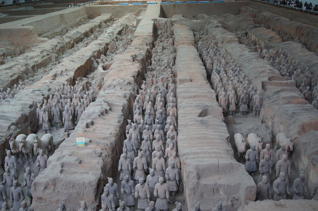 The 2,000-year-old Terracotta Warriors are a sight to behold