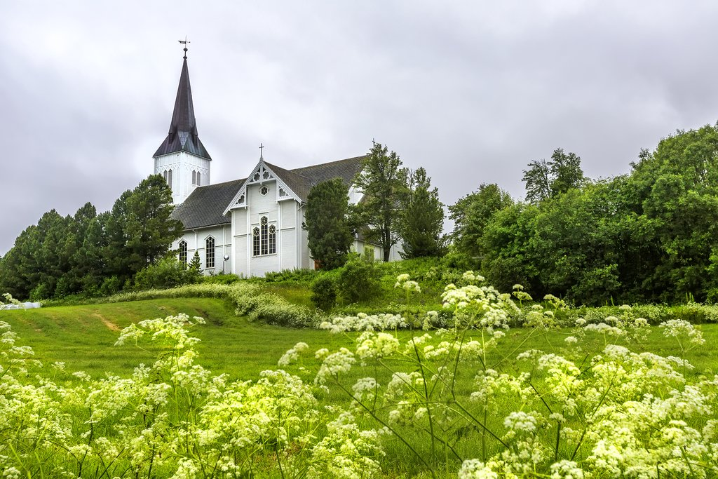 A church from 1902 in Sortland