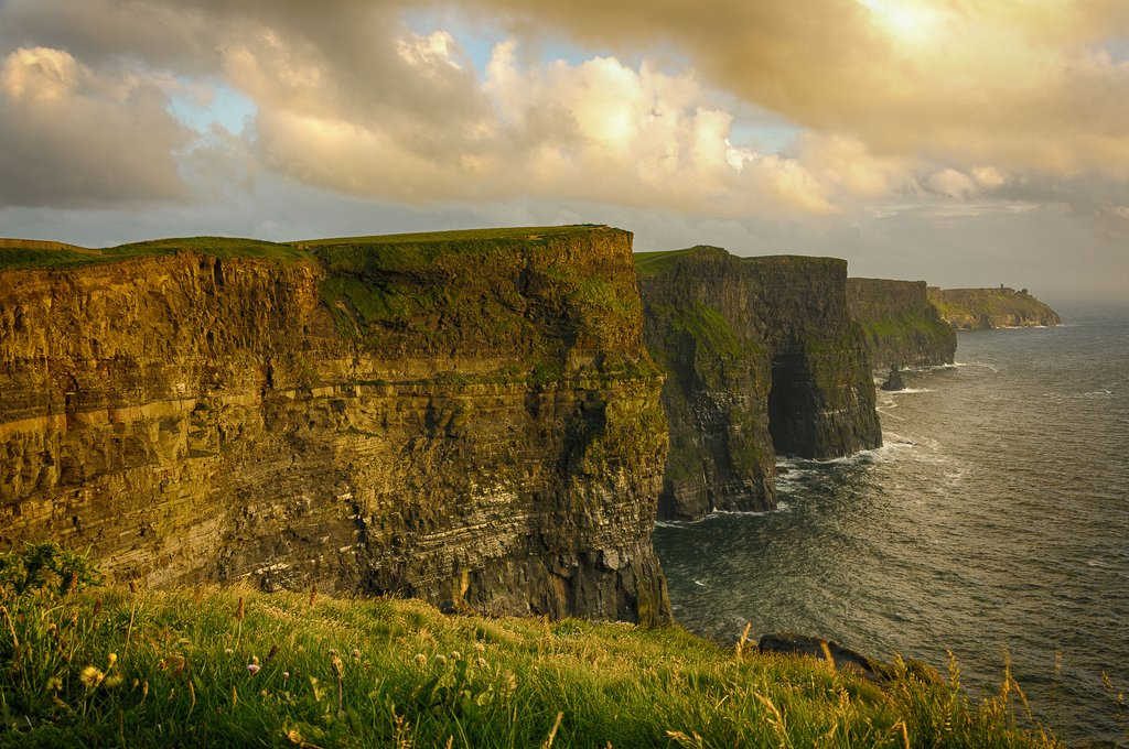 Ireland - Clare - Cliffs of Moher -