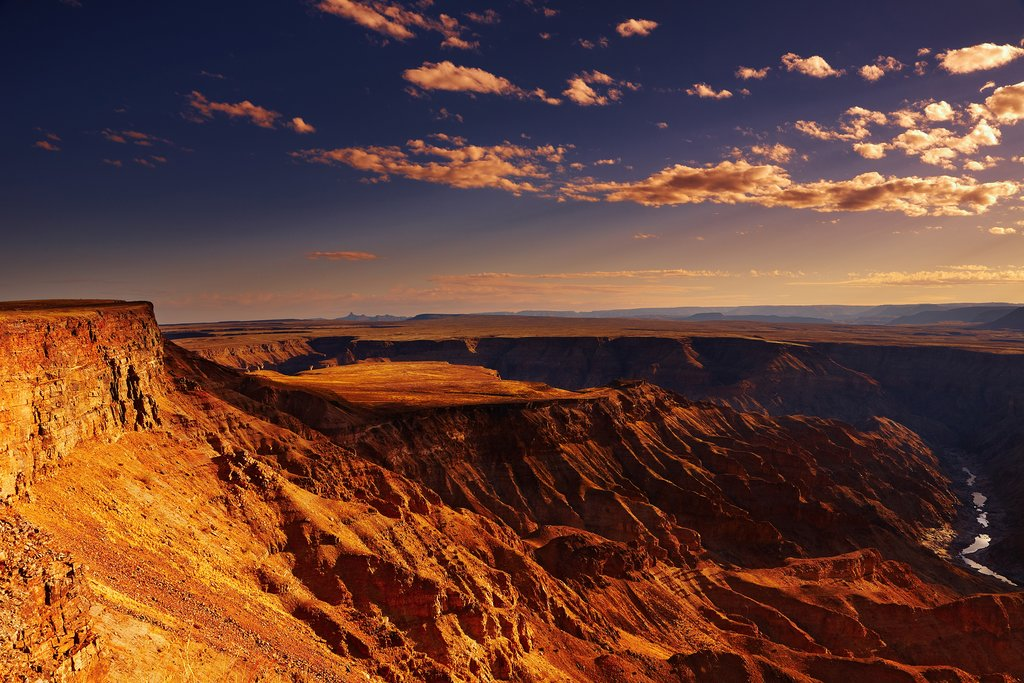 Fish River Canyon sunset