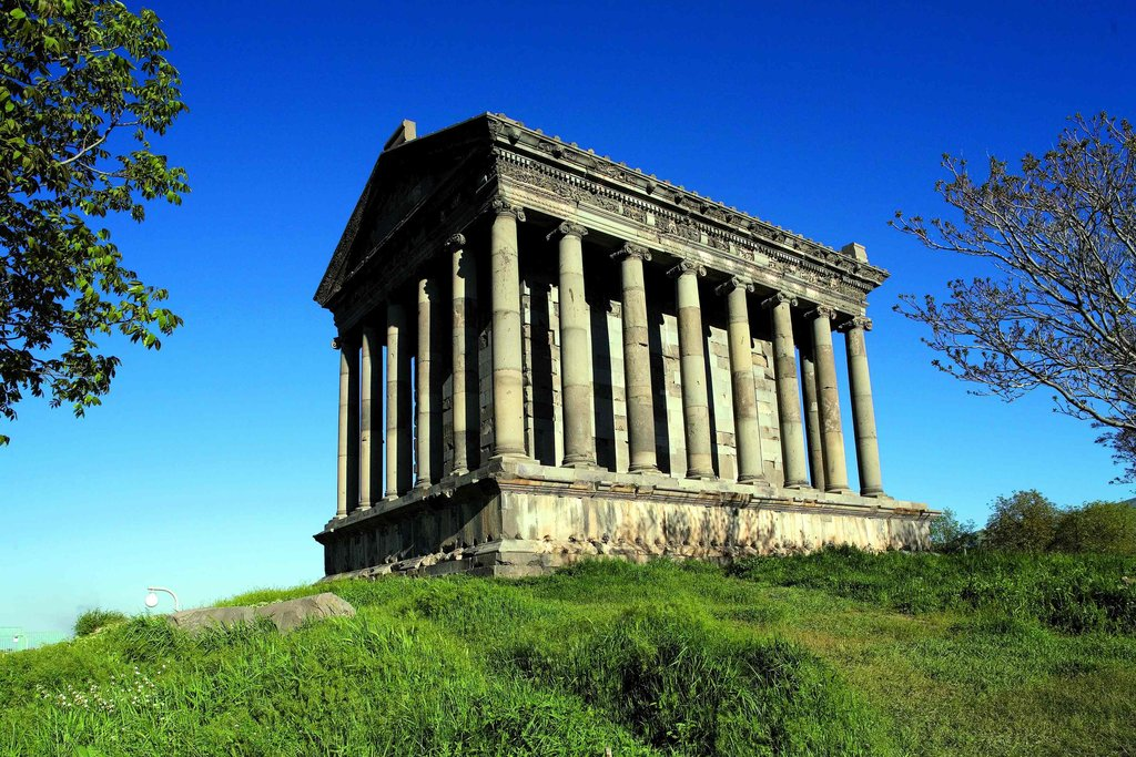 Garni Temple, constructed in the first century CE
