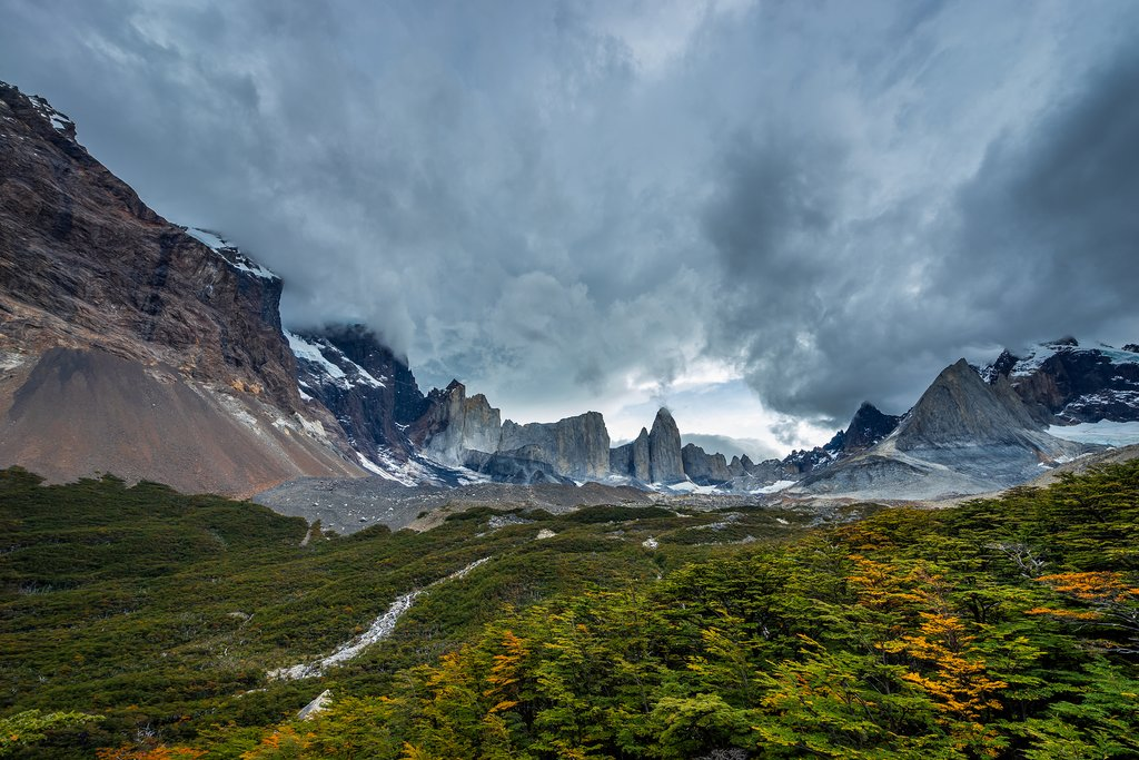 French Valley in Torres del Paine National Park
