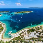Drvenik Veli and the popular Blue Lagoon