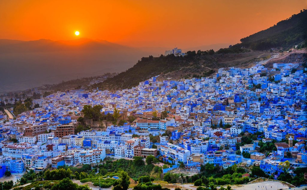 Chefchaouen, the Blue City