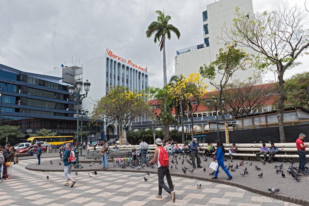 The Plaza Juan Mora Fernandez