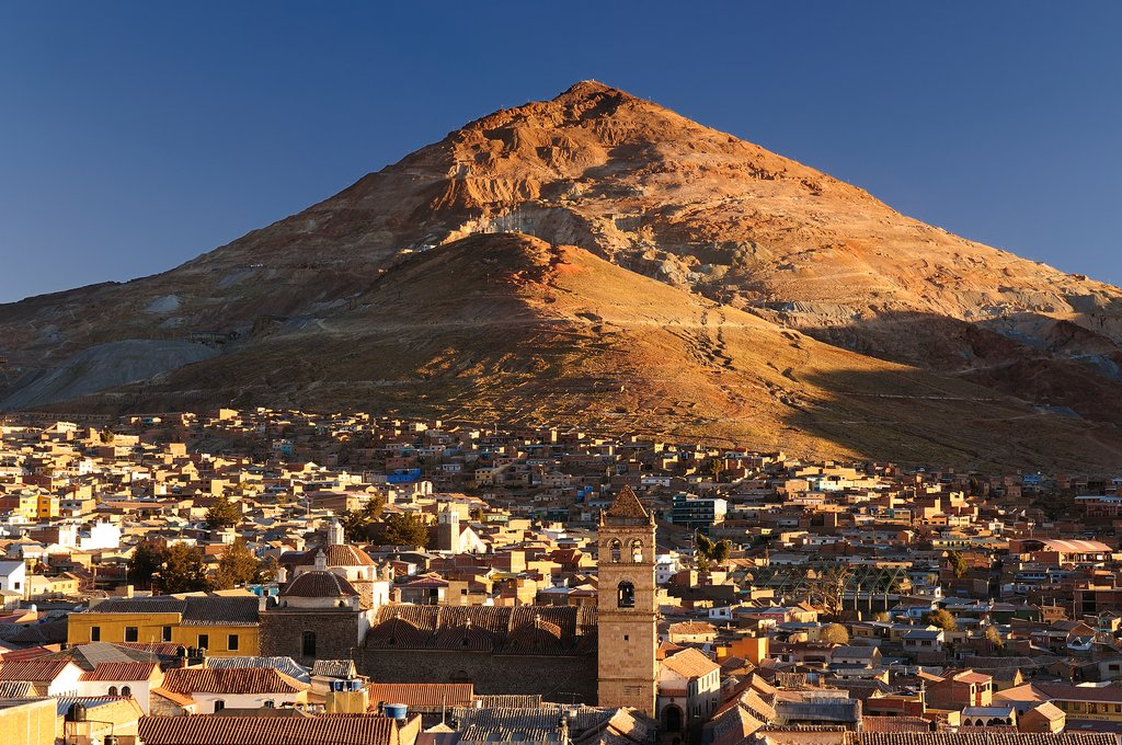 Cerro Rico and Potosí, Bolivia