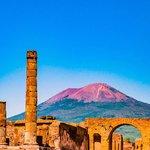 Mount Vesuvius near Naples