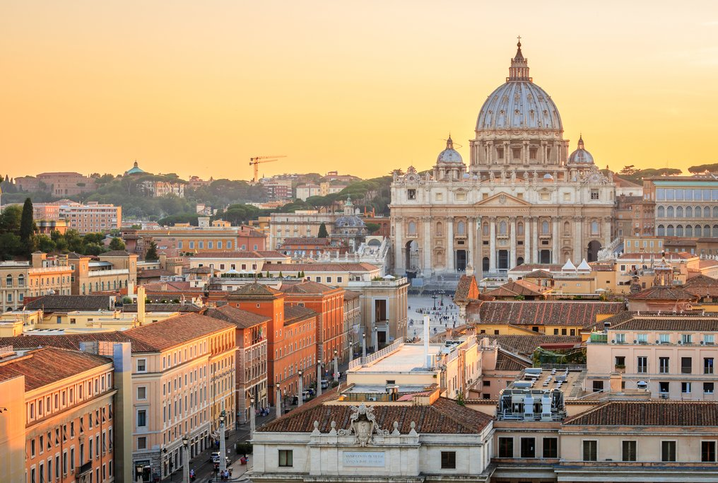 Vatican City at Sunset