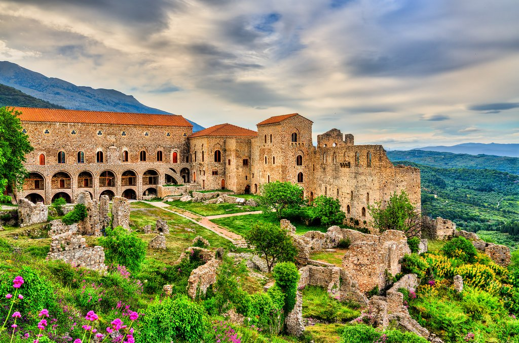 The Palace in Mystras