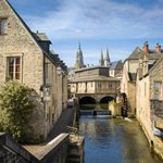 The channel in Bayeux
