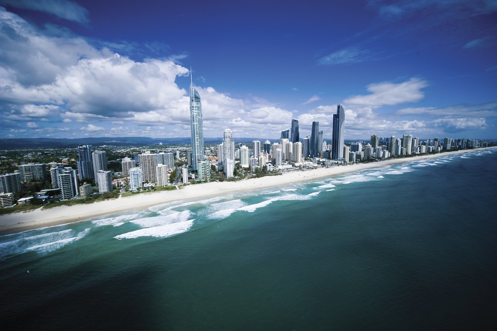 Go surfing in Gold Coast