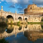 Castel Sant Angelo or Mausoleum of Hadrian in Rome
