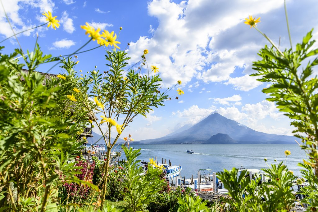 Volcano Views from Panajachel