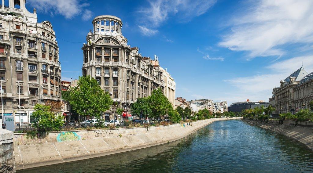 Dambovita River and Blocul Adriatica-Trieste