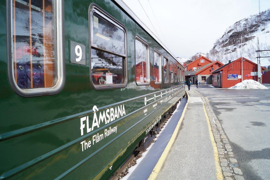 The famous Flåm Railway