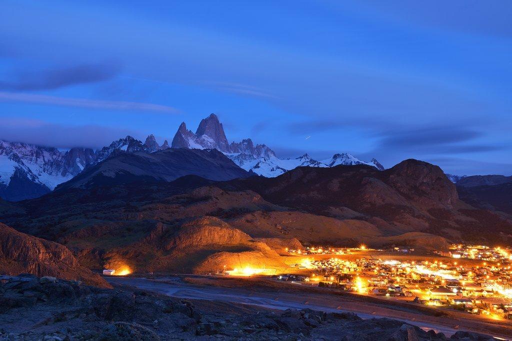 El Chaltén at night