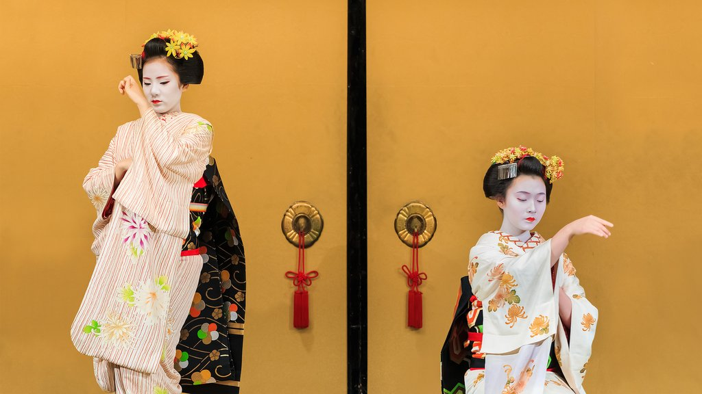 apprentice geisha performance