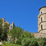 The historic castle of Grimaud