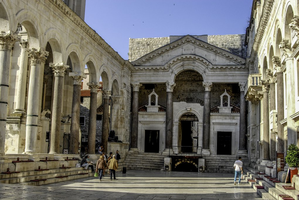 Peristil- Diocletian palace