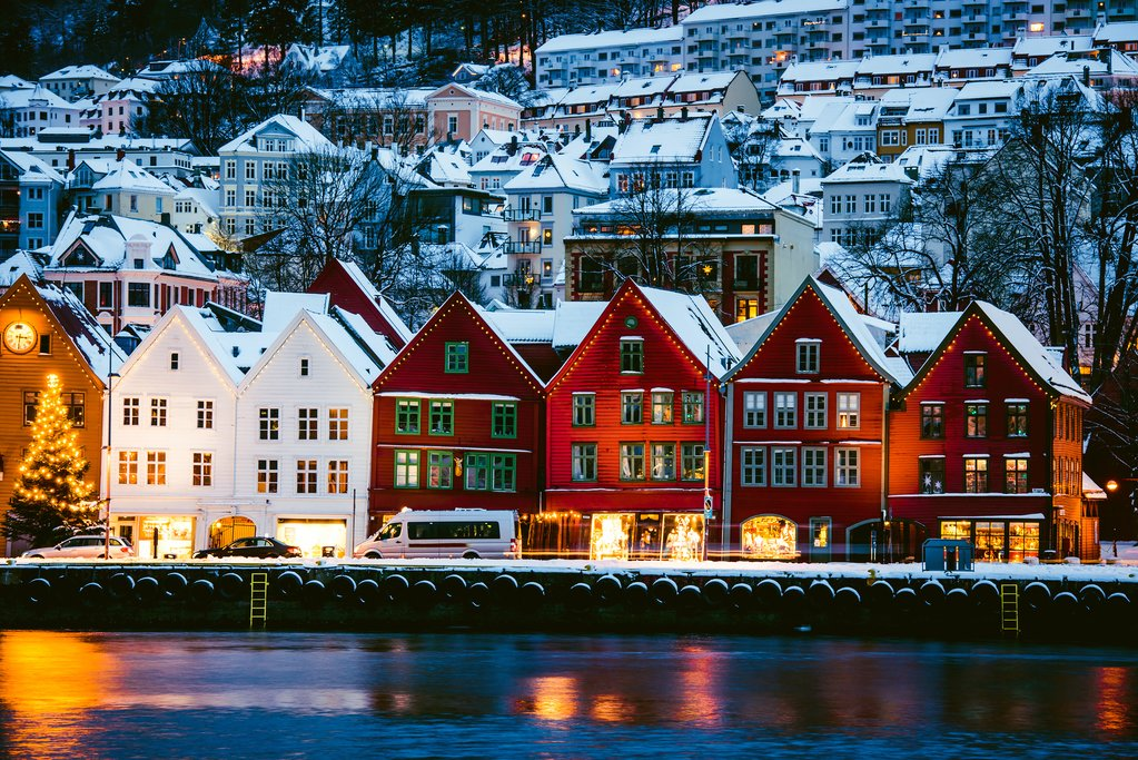 Bergen's UNESCO-listed waterfront setting