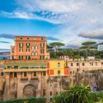 Hotel along the Sorrento waterfront