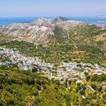 Village Views on the Island of Naxos
