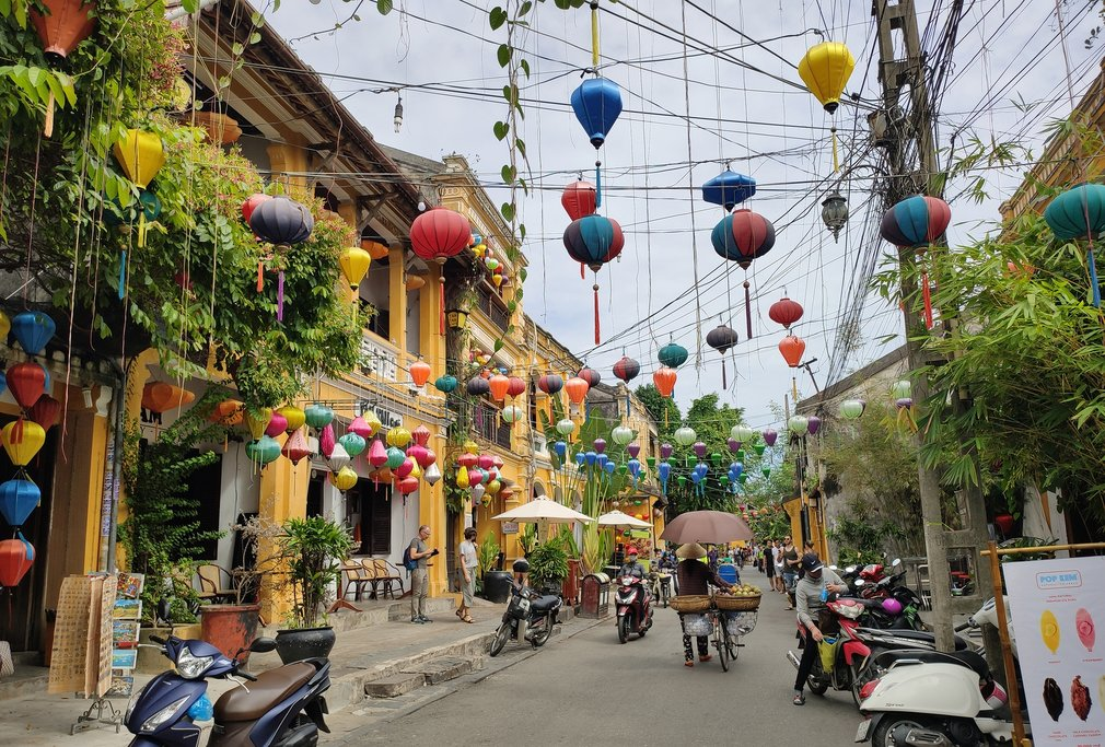 Tour the historic streets of Hội An