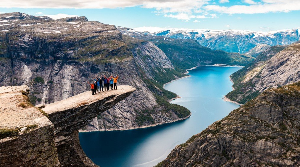Spectacular View from Trolltunga