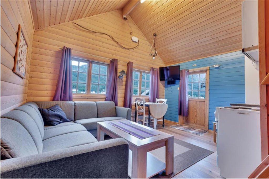 Seaside cottage. Photo courtesy of Manndalen Sjoebuer