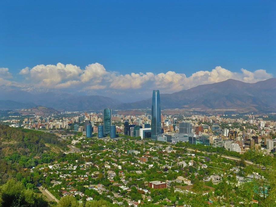 Beautiful day in Santiago de Chile