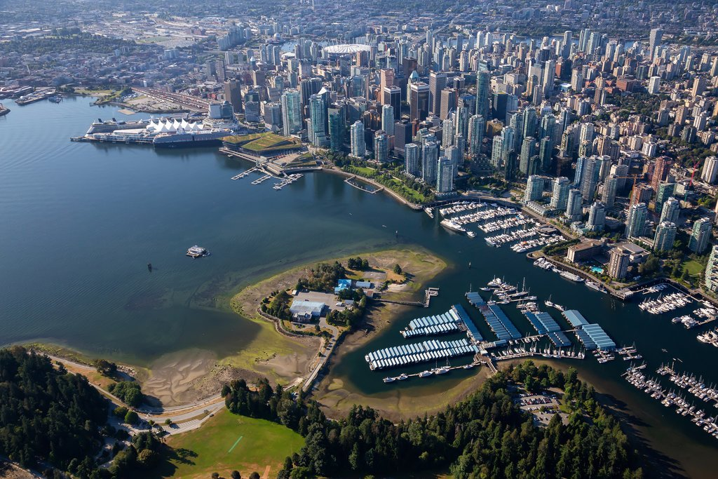 Downtown Vancouver & Stanley Park