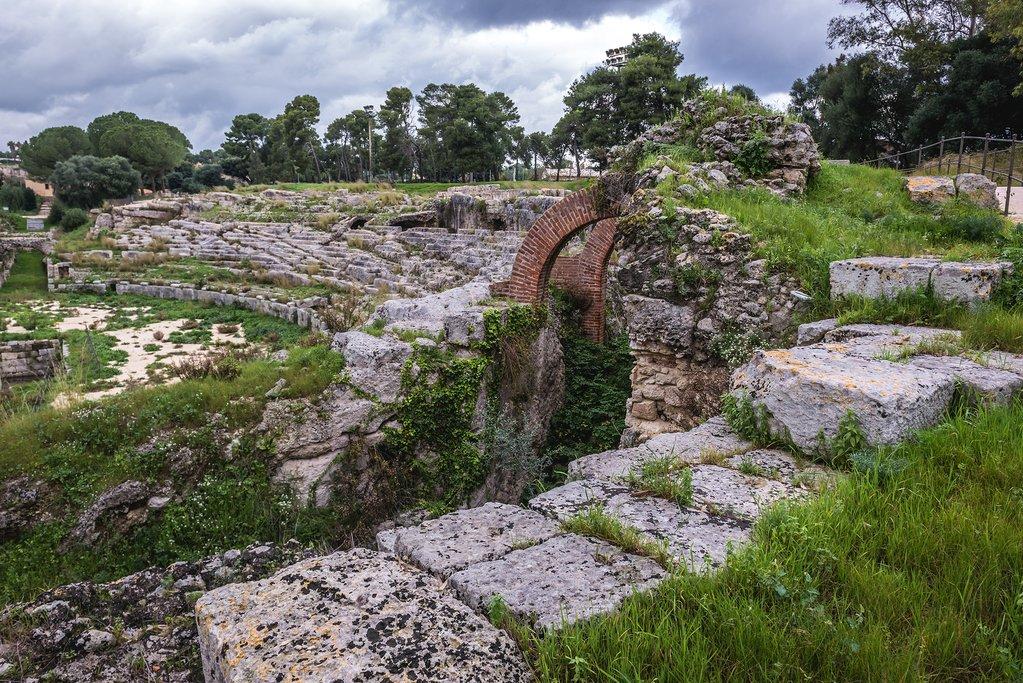 Neapolis Archaeological Park, Syracuse, Sicily, Italy