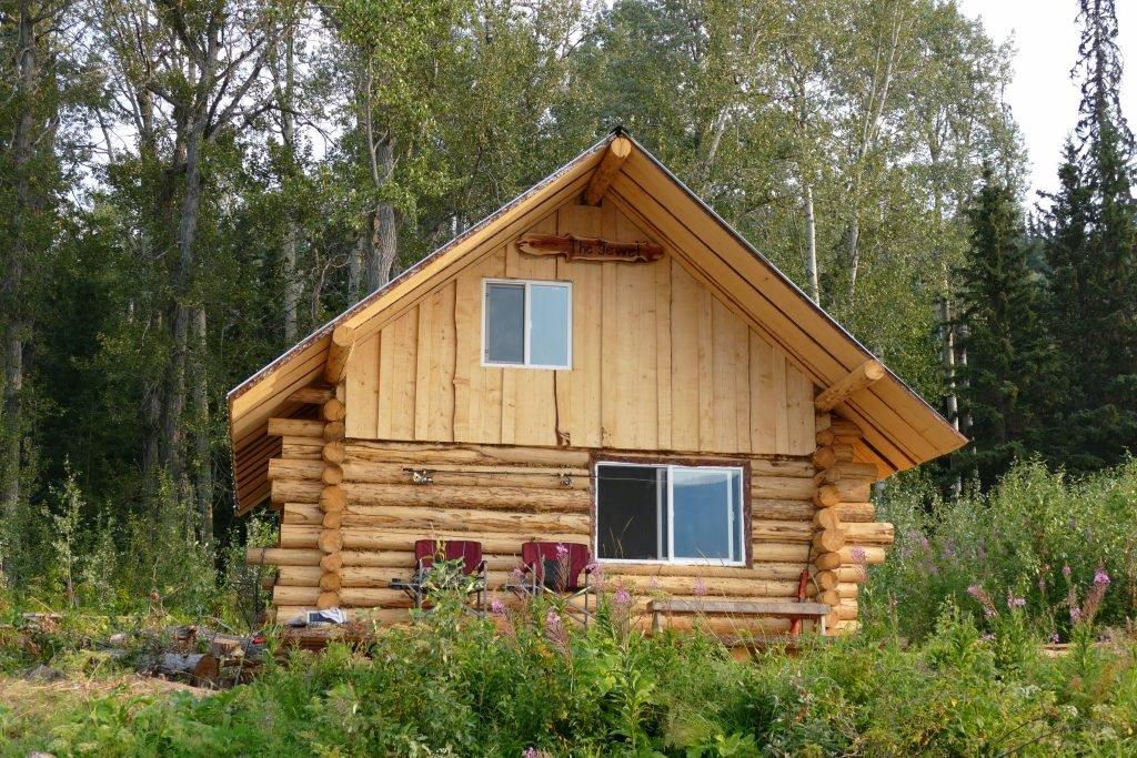 Cabin on Island Lake, east of Babine Lake