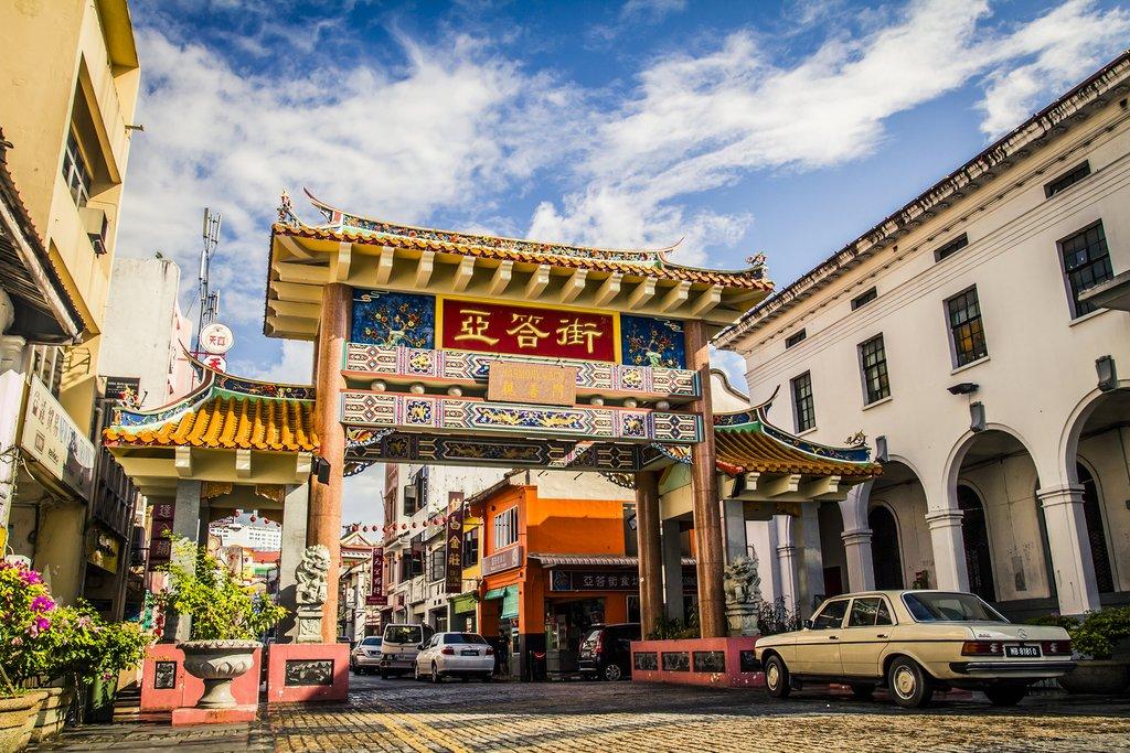 Kuching's Chinatown