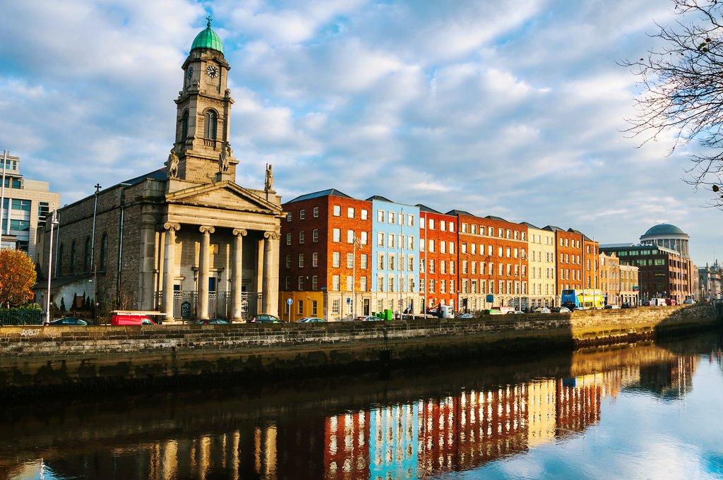 Dublin, Ireland. Saint Paul Church